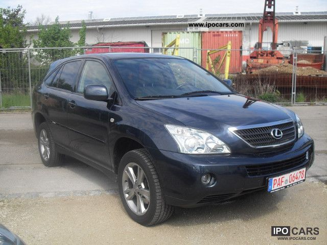 Lexus  RX 400h (hybrid) \ 2007 Hybrid Cars photo
