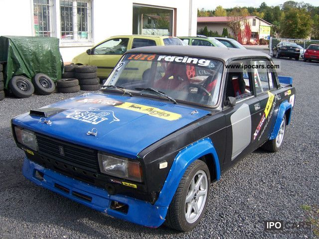 Lada  VFTS 2 pieces rally / racing 1988 Race Cars photo