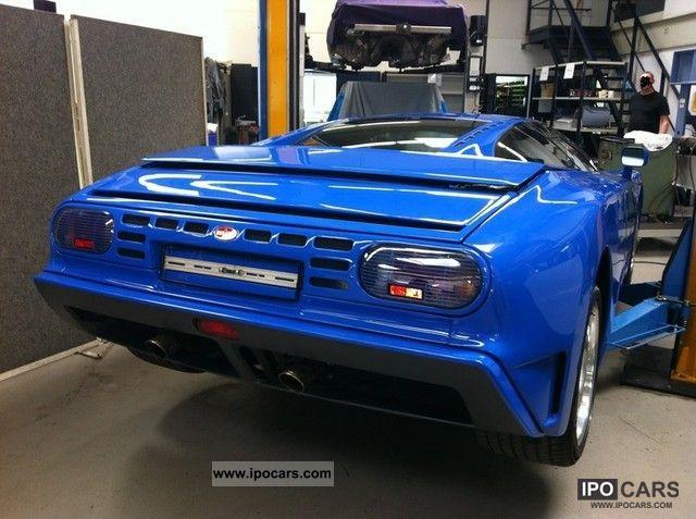 1996 Bugatti Eb 110 Gt Unique Value System Car