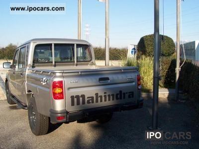 2009 Mahindra  GOA pickup doppia cabina 2.5 crd Off-road Vehicle/Pickup Truck Used vehicle photo