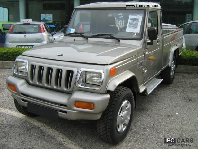 2011 Mahindra  Bolero 2.5 CRDE PICK UP S.C. Small Car Used vehicle photo