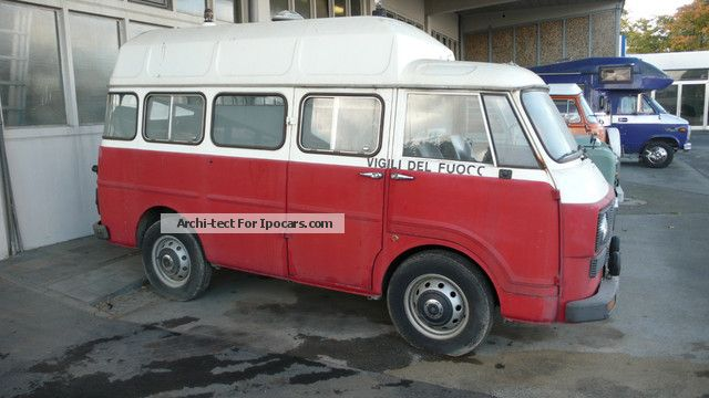1970 Alfa Romeo  F12 Van / Minibus Classic Vehicle photo