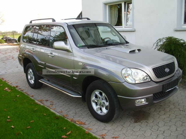 2007 Hyundai  Terracan 2.9 CRDi / / APC / / leather / / SZH Off-road Vehicle/Pickup Truck Used vehicle photo