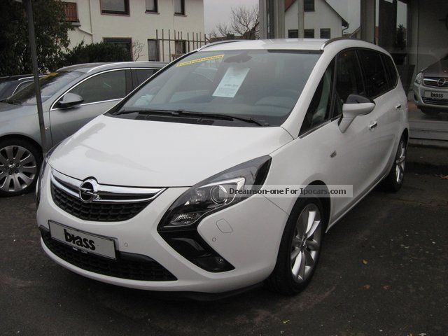 2012 opel zafira tourer 1 4 turbo innovation car photo and specs. Black Bedroom Furniture Sets. Home Design Ideas