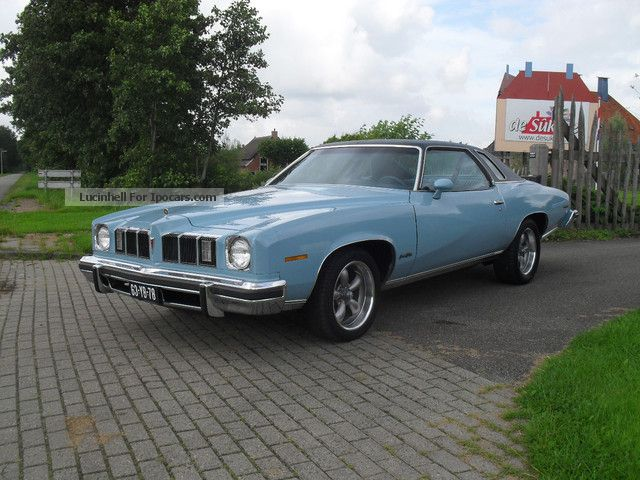 Pontiac  Grand Le Mans 1975 Vintage, Classic and Old Cars photo