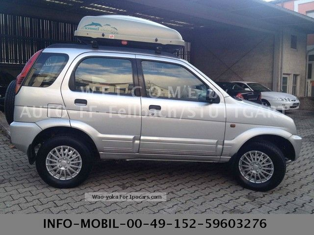 1998 Daihatsu Terios CXS service history without gaps! - Car Photo and ...
