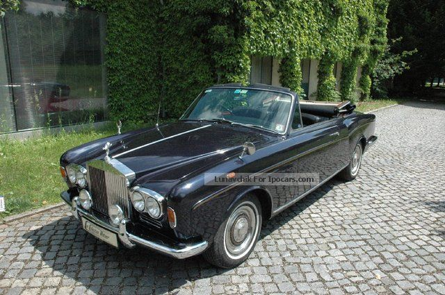 1967 Rolls Royce  Silver Shadow RHD * a piece of only 505 * Cabriolet / Roadster Classic Vehicle photo