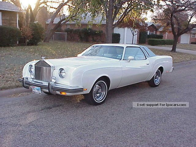 Rolls Royce  Chevrolet Custom Cloud 1976 Vintage, Classic and Old Cars photo