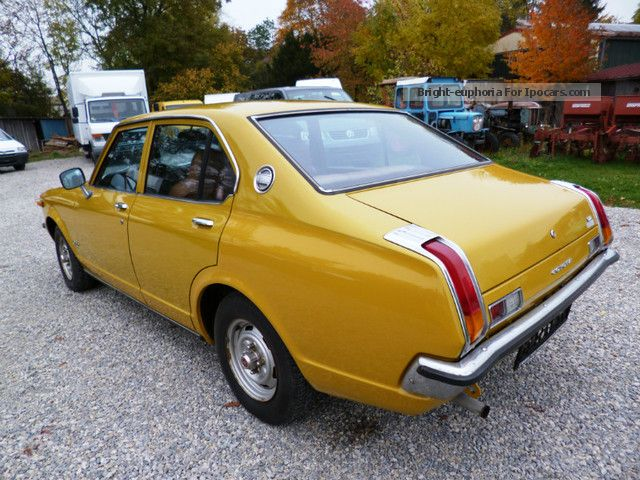 1976 toyota carina deluxe automatic car photo and specs