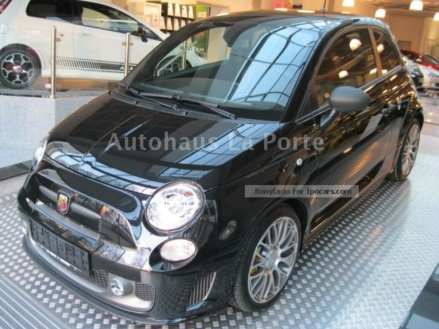 2012 Abarth  595 NE COMPETIZIO Sabelt / Yellow Brake / Record Monza Small Car Pre-Registration photo