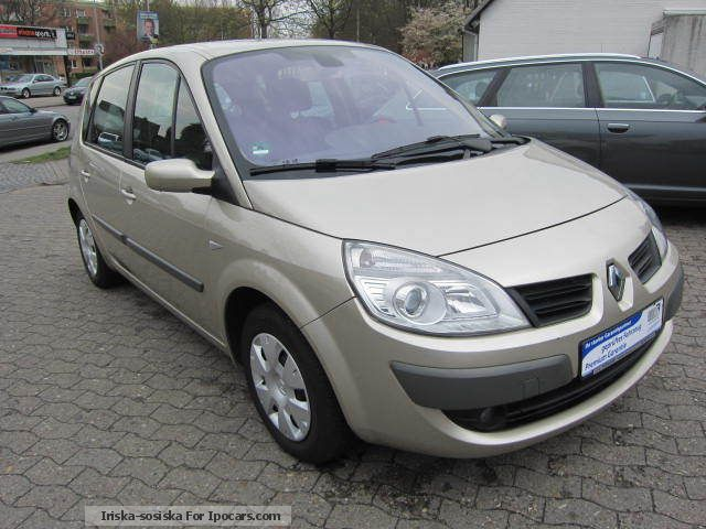 2007 renault scenic 1 6 16v lpg air car photo and specs. Black Bedroom Furniture Sets. Home Design Ideas