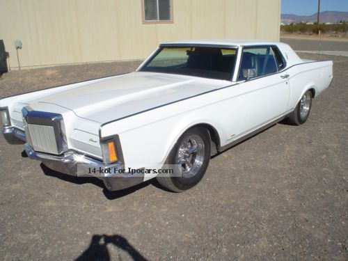 Lincoln  Mark III 1971 Vintage, Classic and Old Cars photo