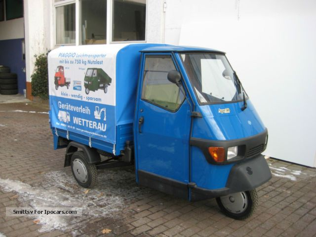 2012 Piaggio  APE Other Demonstration Vehicle photo