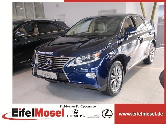 Lexus  RX 450 HYBRID DRIVE, AUTOMATIC, EXE. 2012 Hybrid Cars photo