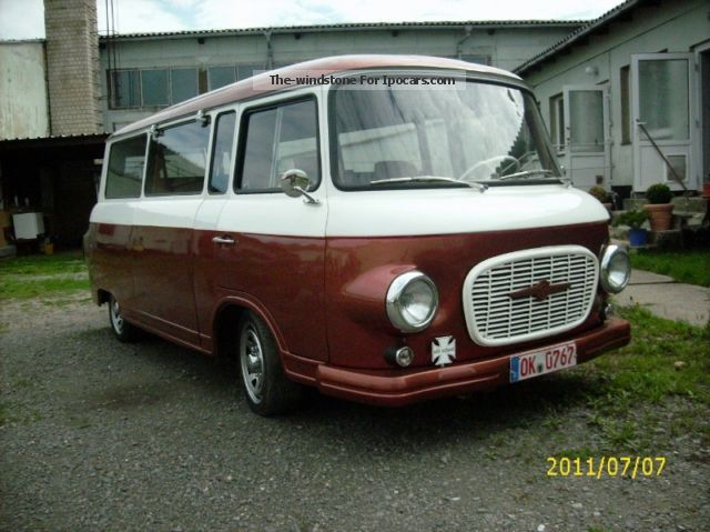 Wartburg  / Barkas bus 1969 Vintage, Classic and Old Cars photo