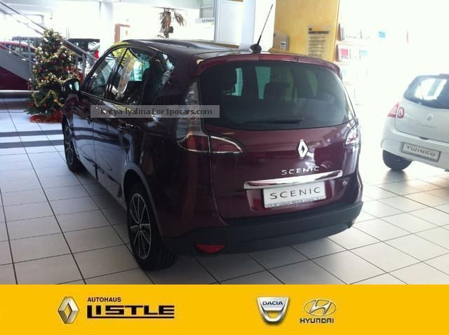 2012 renault scenic energy tce 115 bose top features. Black Bedroom Furniture Sets. Home Design Ideas