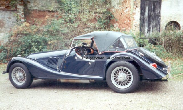Morgan  1600 Plus 4 1963 Vintage, Classic and Old Cars photo