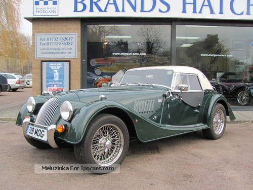 2002 morgan 4 4 le mans 62 convertible hardtop leather rhd car photo and specs