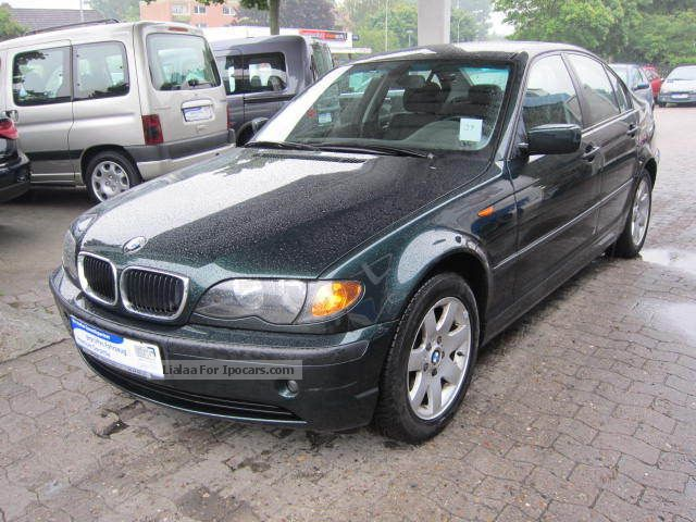 2002 BMW  318i Klimaautomatik/82850KM/Automatik Saloon Used vehicle photo