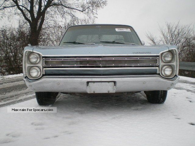 Plymouth  Fury V8, with TÜV approval and H 1968 Vintage, Classic and Old Cars photo