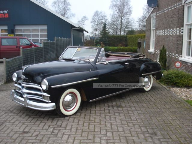 1950 Plymouth  PLYMOUTH SUPER DELUXE CONVERTIBLE 1950 Cabriolet / Roadster Classic Vehicle photo