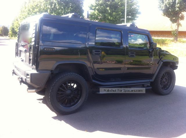 Hummer  H2 PRINS LPG GAS 22 inch black edition BAD! 2003 Liquefied Petroleum Gas Cars (LPG, GPL, propane) photo