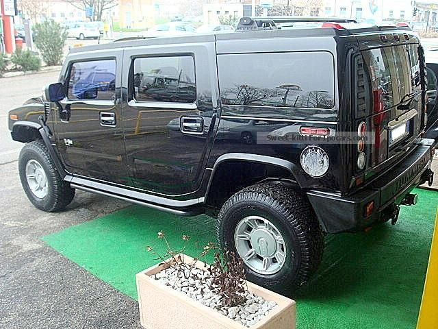 2007 hummer h2 6 0 car photo and specs. Black Bedroom Furniture Sets. Home Design Ideas