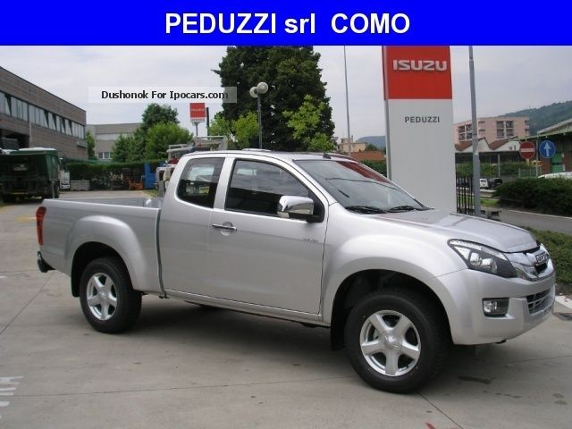 2012 Isuzu  D-Max 2.5 Space Cab Solar A / T 4WD Off-road Vehicle/Pickup Truck New vehicle photo