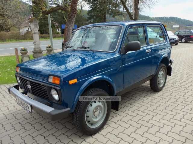 Lada  Niva 1.7i 4x4 with LPG drive 2012 Liquefied Petroleum Gas Cars (LPG, GPL, propane) photo
