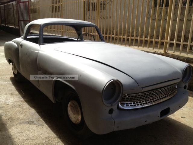 1957 wartburg 313 roadster car photo and specs. Black Bedroom Furniture Sets. Home Design Ideas