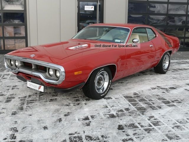 Plymouth  Road Runner 1 of only 329 and like new! 1972 Vintage, Classic and Old Cars photo