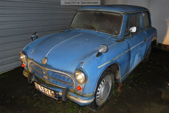 Trabant  IFA AWZ P70 1958 Vintage, Classic and Old Cars photo