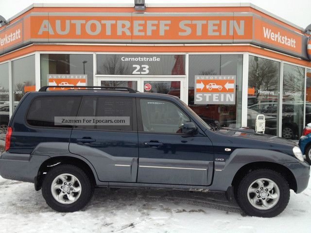 2008 Hyundai  Terracan 2.9 CRDi Automatic Leather AZV DPF green Off-road Vehicle/Pickup Truck Used vehicle photo