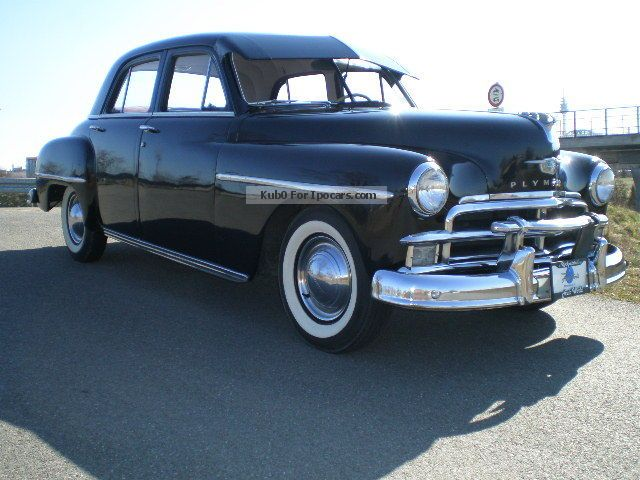 1952 Plymouth Cambridge, Oldtimer - Car Photo and Specs