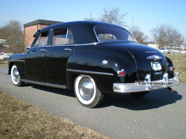 1952 Plymouth Cambridge Oldtimer Car Photo And Specs