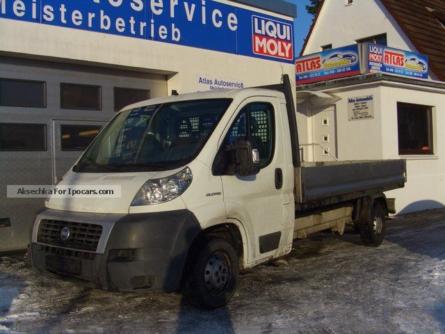 2006 Fiat  Ducato 120 Multijet 2,3 MAXI 3rd bench + EURO4 Off-road Vehicle/Pickup Truck Used vehicle photo