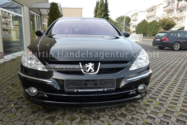 2009 peugeot 607 v6 hdi platinum 205 leather navigation. Black Bedroom Furniture Sets. Home Design Ideas