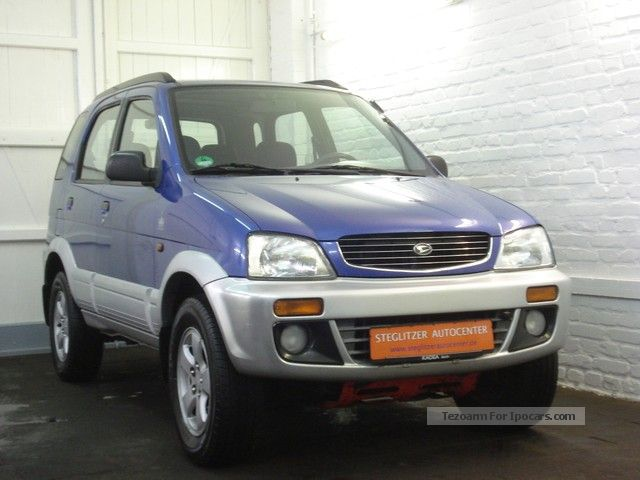 1998 Daihatsu Terios CX 1.Hand/Automatik/Klima/AHK Saloon Used vehicle ...