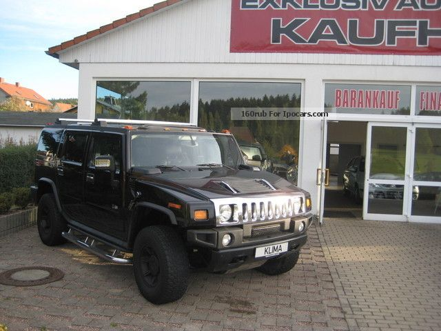 2006 Hummer  H2 Black Edition ** ** Aut. Leather + full equipment Off-road Vehicle/Pickup Truck Used vehicle photo