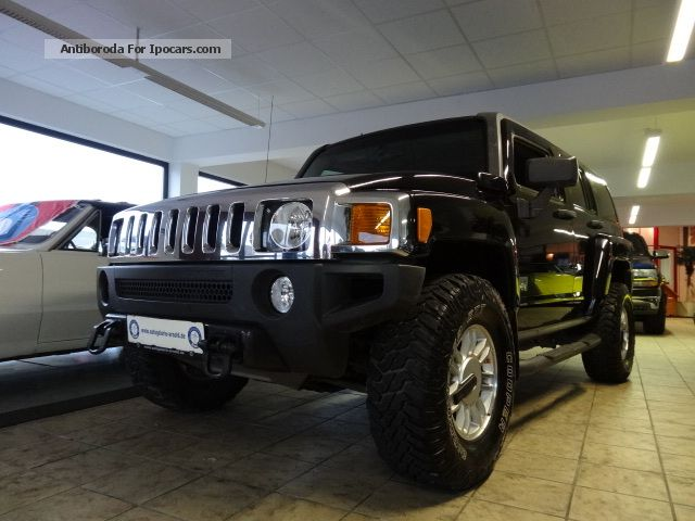Hummer  H3 3.7 L WITH LPG GAS - BLACK BEAUTY - 2006 Liquefied Petroleum Gas Cars (LPG, GPL, propane) photo