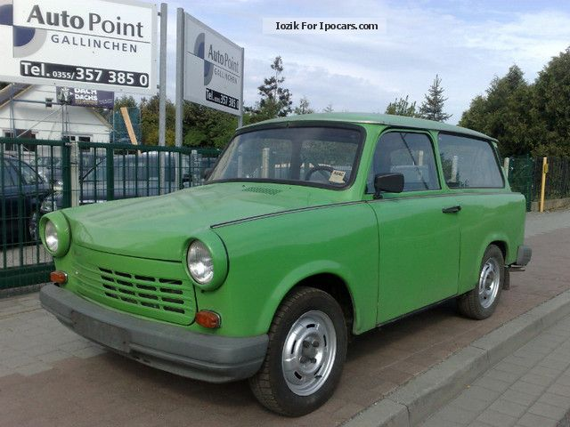 Trabant  1.1 Combination with LPG autogas system 1991 Liquefied Petroleum Gas Cars (LPG, GPL, propane) photo