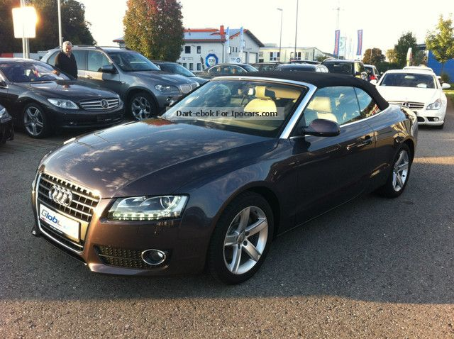 2011 Audi  A5 Cabriolet 2.7 TDI S-Tronic Cabriolet / Roadster Used vehicle photo