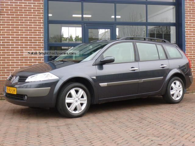 Renault  Megane, 1.6 GLASROOF EEC LPG G3 SALES! 2005 Liquefied Petroleum Gas Cars (LPG, GPL, propane) photo