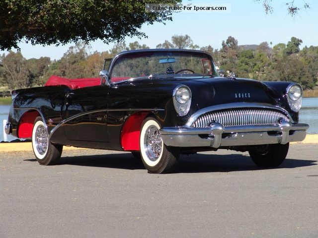 Buick  Skylark Convertible 1954 Vintage, Classic and Old Cars photo