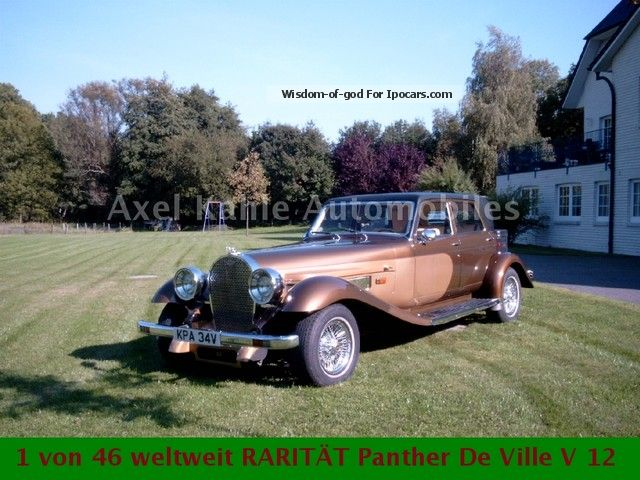 Other  Panther De Ville V12 46ST world. Inz / exchange 1977 Vintage, Classic and Old Cars photo