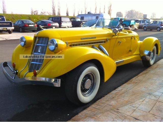 Other  Auburn 852 Boattail Speedster replica 1978 Vintage, Classic and Old Cars photo