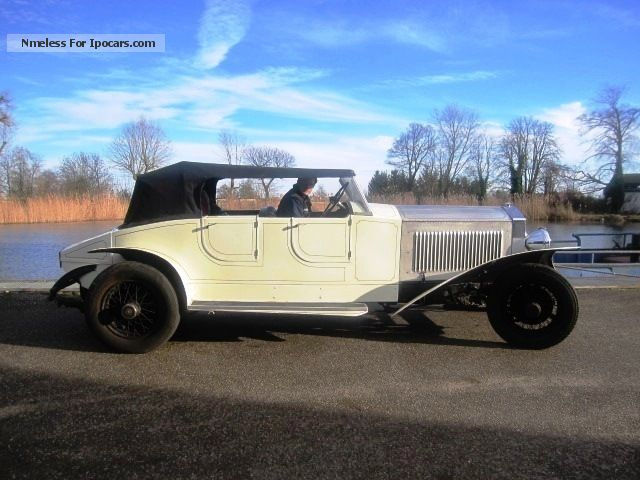 Rolls Royce  Phantom II Open Tourer Convertible 1930 Vintage, Classic and Old Cars photo