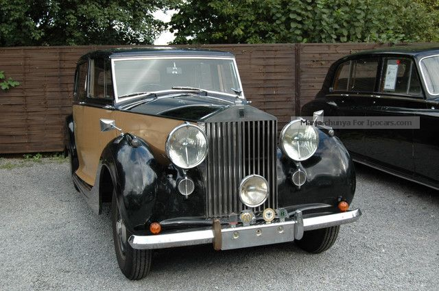 Rolls Royce  Silver Wraith - Mulliner 1949 Vintage, Classic and Old Cars photo