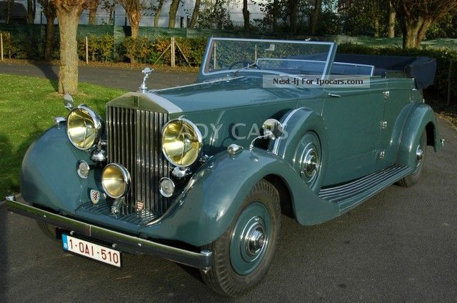 Rolls Royce  Wraith 1939 Vintage, Classic and Old Cars photo