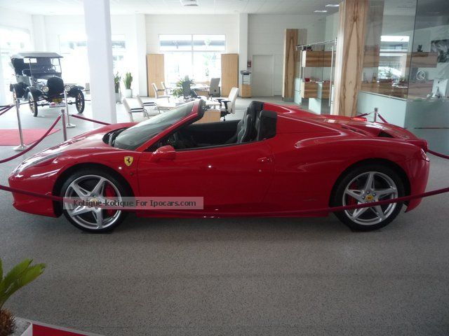 Ferrari  458 F1 Spider * carbon steering wheel LED * Racing * NAVI * 2012 Race Cars photo